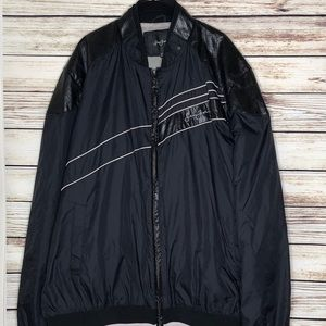 Sean John Men's Windbreaker Jacket XXXL Black